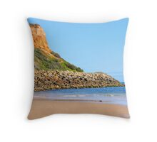 The colours of the beach Throw Pillow