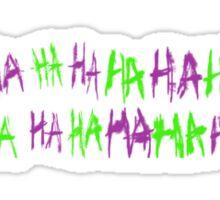 HAHAHA Ect Sticker