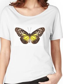 "Butterfly species Parantica aspasia common name ""Yellow Glassy Tiger"" Women's Relaxed Fit T-Shirt"