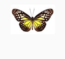 """Butterfly species Parantica aspasia common name """"Yellow Glassy Tiger"""" Unisex T-Shirt"""