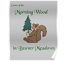 Coven of the morning wood in beaver meadows Poster