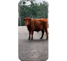 Outback Cows  iPhone Case/Skin