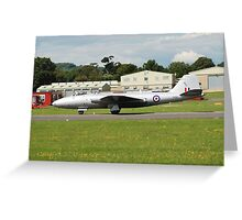 Canberra bomber jet Greeting Card