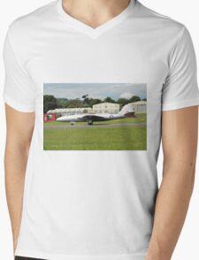 Canberra bomber jet Mens V-Neck T-Shirt