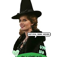 Zelena the Wicked Witch by skywaterr