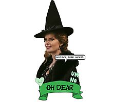 Zelena the Wicked Witch Photographic Print