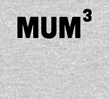 Mum Cubed / 3 Womens Fitted T-Shirt