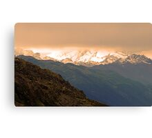 Giants In The Mood Canvas Print