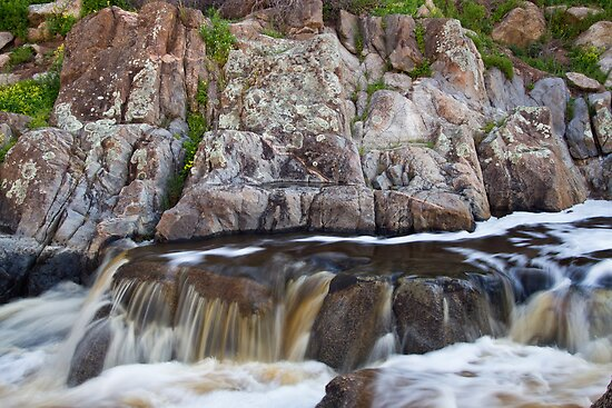 Mannum Falls by KathyT