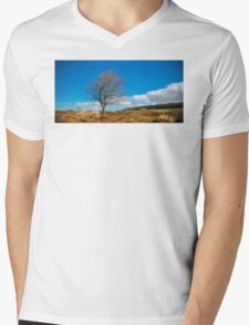 Peak District Mens V-Neck T-Shirt