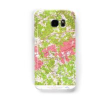Massachusetts  USGS Historical Topo Map MA Natick 350350 1958 24000 Samsung Galaxy Case/Skin