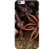 cinnamon spice iPhone Case/Skin