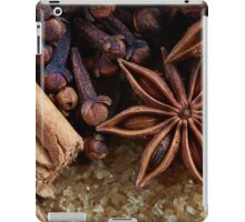 cinnamon spice iPad Case/Skin