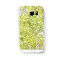 Massachusetts  USGS Historical Topo Map MA Wilmington 350754 1950 24000 Samsung Galaxy Case/Skin