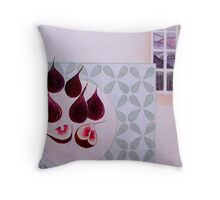 Tuscany figs Throw Pillow