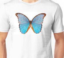 Butterfly species Morpho godarti assarpai Unisex T-Shirt