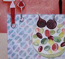 Olive bowl by sue mochrie