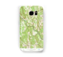 Massachusetts  USGS Historical Topo Map MA Shelburne Falls 350552 1961 24000 Samsung Galaxy Case/Skin