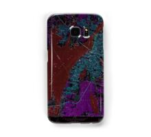 Massachusetts  USGS Historical Topo Map MA Fall River 350134 1967 24000 Inverted Samsung Galaxy Case/Skin