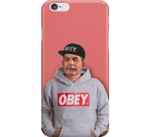 OBEY STALIN iPhone Case/Skin