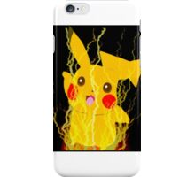 Pikachu Power iPhone Case/Skin