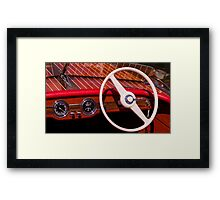 Runabout Framed Print