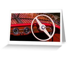 Runabout Greeting Card