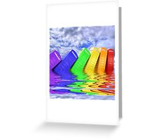 Out Of Order -  A Rainbow - Kingston - Surrey  Greeting Card
