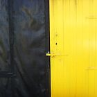 Yellow Door by Carol Dumousseau