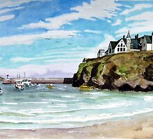 """""""Chaff Cove # 2"""" -  Port Isaac, Cornwall by Timothy Smith"""