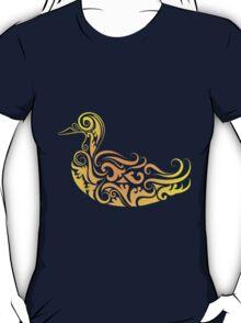 Duck pattern decoration T-Shirt
