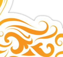 Duck pattern decoration Sticker