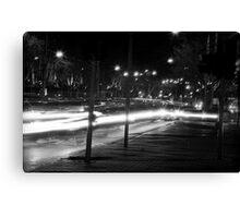 """Melbourne - """"Streetscape"""" #2 Canvas Print"""