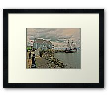 Pictou Waterfront Framed Print