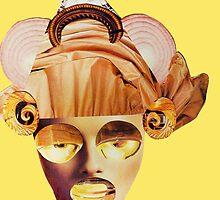 snail ears yellow by Soxy Fleming