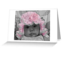 ♥ RIVEN-ADORABLE BABY FACE ♥ Greeting Card