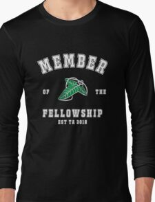 Fellowship (black tee) Long Sleeve T-Shirt