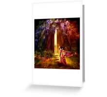 A Knock at the Door Greeting Card