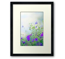 a pure person Framed Print