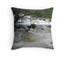 Avich Falls, Argyll Throw Pillow