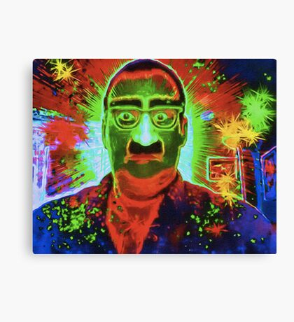 Magic Gag Glasses, Nose and Mustache Canvas Print