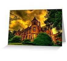 Castles of Brookline, Ma  - I Greeting Card