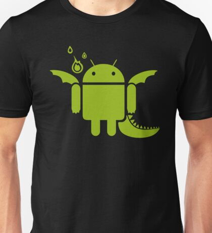 Android Dragon Unisex T-Shirt