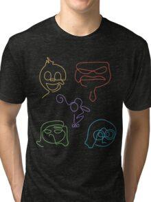 Emotional Lines Tri-blend T-Shirt