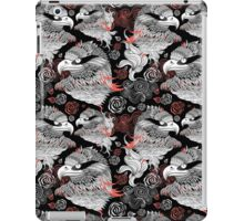 graphic design portraits of eagles iPad Case/Skin