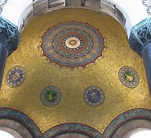 Dome's interior part-Istanbul by rasim1