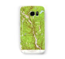 Massachusetts  USGS Historical Topo Map MA Tolland Center 350645 1958 24000 Samsung Galaxy Case/Skin
