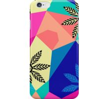 Floral Fusion - Pink iPhone Case/Skin