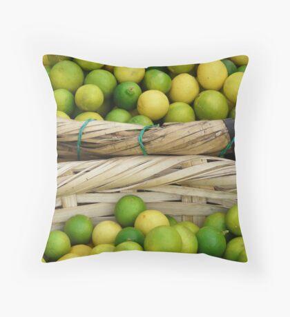 Zest of Nicaragua Throw Pillow