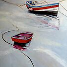 Pilot Me B and Ferry Boat by Sue Nichol